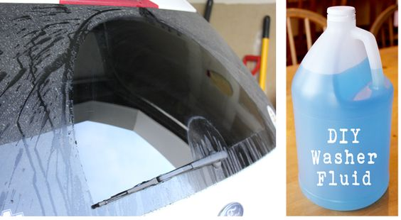Fight Windshield Grime With Homemade Washer Fluid by Jillee