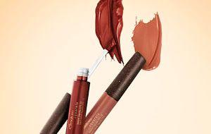 Lindas cores, prático e com ótima cobertura. Batom Líquido Aquarela