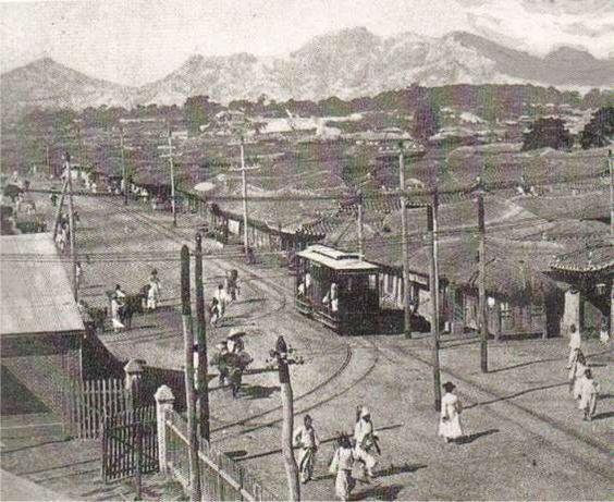 1st streetcar in Korea Seoul, 1890s