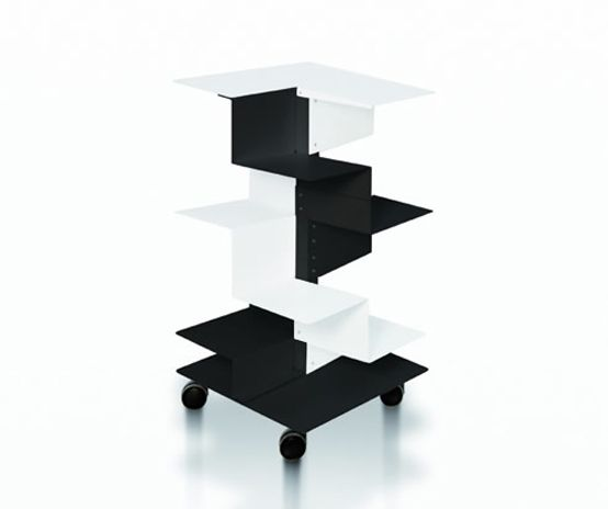 Superior Modern And Asymmetric Freestanding Bookcases U2013 Librespiral By Gerardo Mari  | DigsDigs | Shelves And Drawers. | Pinterest | Modern, Drawers And Shelves Design Inspirations