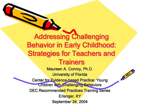 ece 313 behaviors and strategies for Providing positive guidance use of effective positive guidance strategies in early childhood education settings early childhood education setting or.