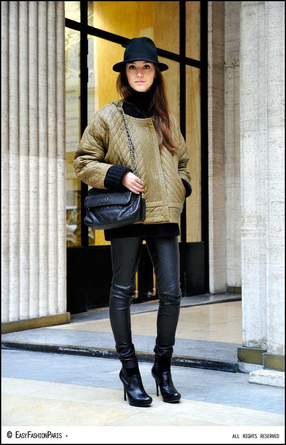 Axelle - Place Vendôme - Paris  Photo by Fred - Easy Fashion Paris