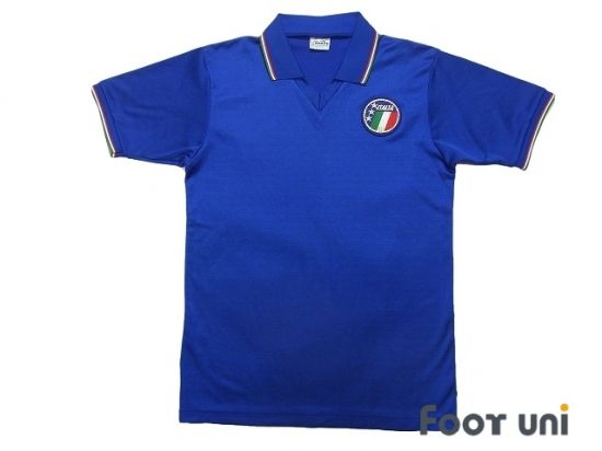 Italy 1986 Home Shirt In 2020 Vintage Football Shirts Retro Football Shirts Italy Football Shirt