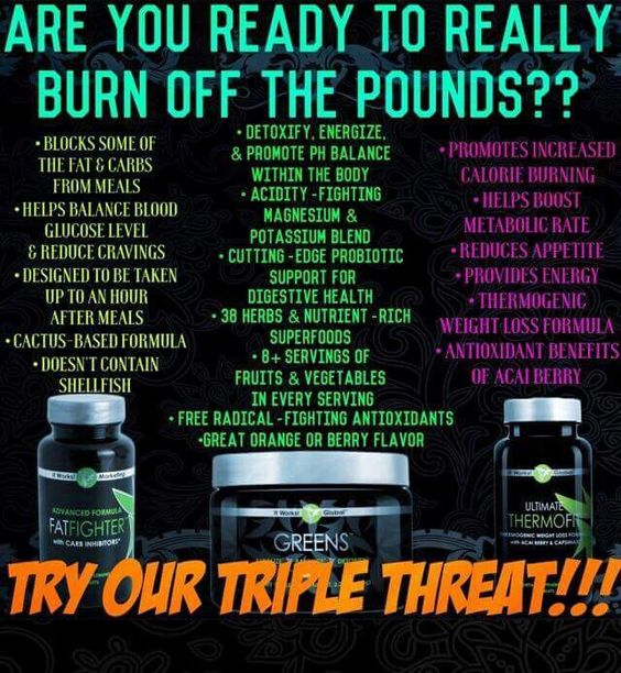Ready to burn off the pounds??