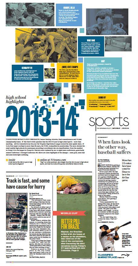 Sports, July 5, 2014.