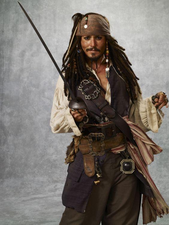 Jack Sparrow - Pirates of the Caribbean