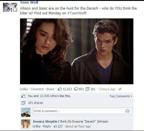 "Dwayne ""Darach"" Johnson, hahaha I can't stop laughing!!"