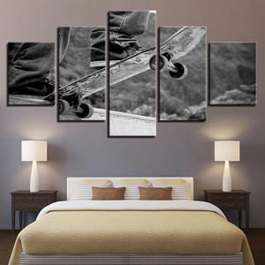Pengda Canvas Pictures Room 5 Pieces Paintings Posters Wall Art Prints Large Wall Art Canvas Pictures