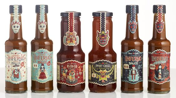 Sweet Chilli by Steve Simpson, via Behance