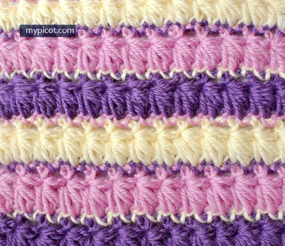 MyPicot Free crochet patterns - 0012 Crochet Long Loop Stitch ...