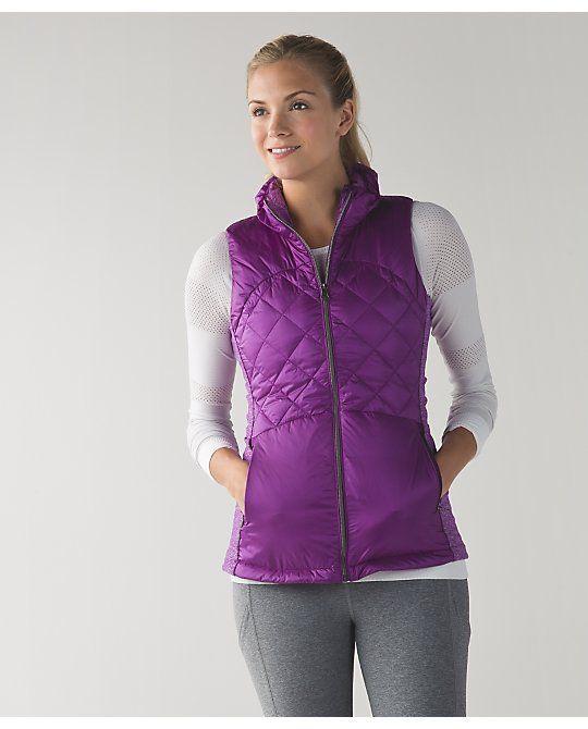 Down For A Run Vest | lululemon athletica | Color: tender violet