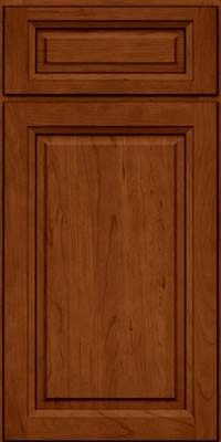 Door Detail Square Raised Panel Solid Pkc Cherry In