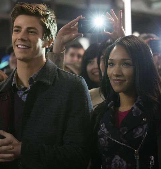 The Flash - Grant Gustin as Barry Allen & Candice Patton as Iris West ❤️