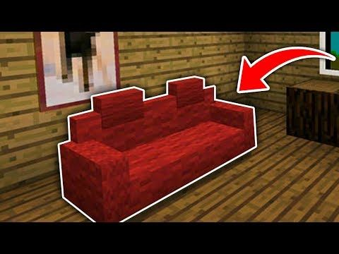 Minecraft How To Make A Working Guard Dog Youtube Minecraft Minecraft Couch Minecraft Tutorial