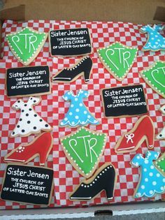 Sister missionary cookies LDS mission