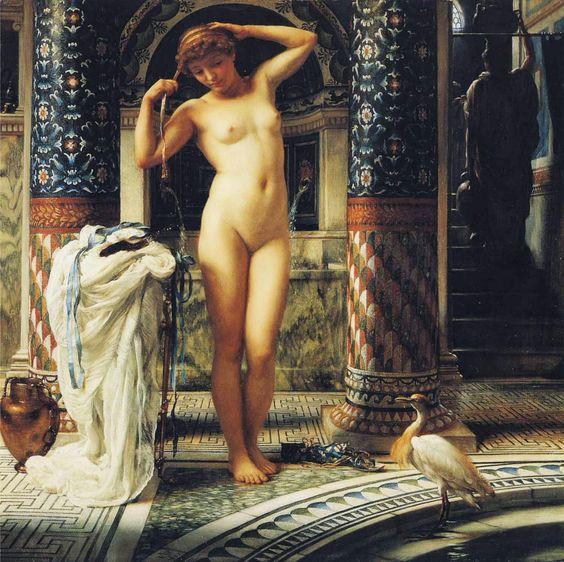 Diadumene, por Edward Poynter (1884)