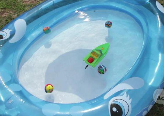 Make a Splash Saving on Summer Entertainment Kids -- Savings Experiment