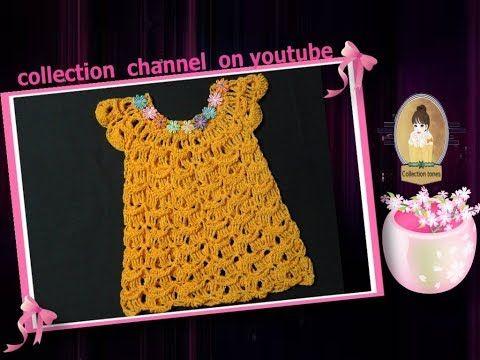 كولكشن قناه متنوعه تحتوى على العديد من المواضيع المفيده تعليم كروشيه اشغال يدويه من خامات مختلفه احلى المخبوزات Crochet Baby Dress Crochet Baby Crochet