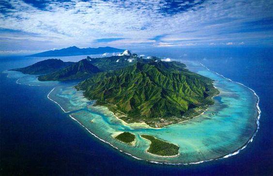 Moorea, Iles sous le vent, Polynésie Française:
