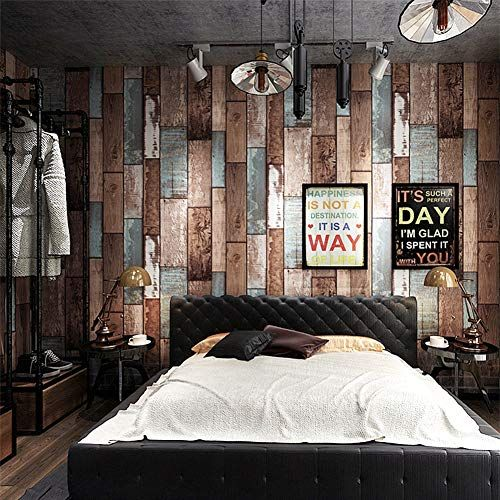 Livelynine Teal Wood Wallpaper Stick And Peel Shiplap Wall Paper Self Adhesive Wood Paper Shiplap Bulleti Shiplap Wall Paper Teal Wood Wallpaper Wood Wallpaper
