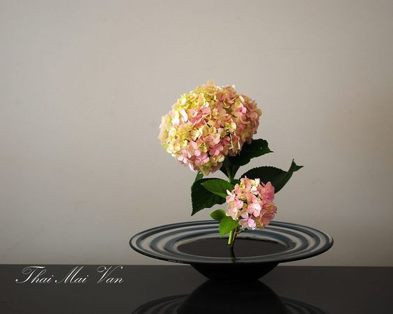 Simply hydrangeas.   #flower arrangement