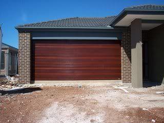 Garage Door Colorbond Quot Caoba Quot House Build Colour
