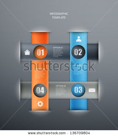 infographics options banner for workflow layout, diagram,