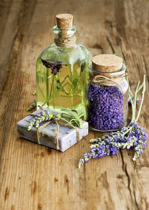 Lavender soap and oils: