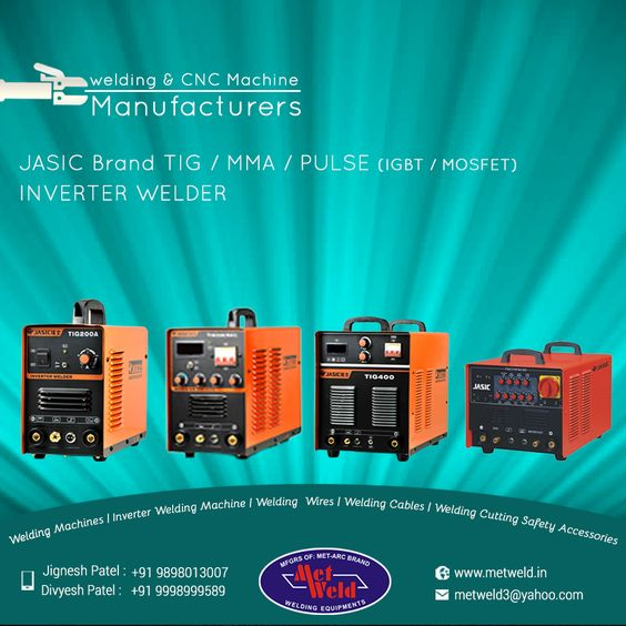 #welding & #CNC #Machine #Manufacturers.#Jasic #Brand #TIG/#MMA/#PULSE (IGBT / MOSFET) #Inverter #Welder #Metweld