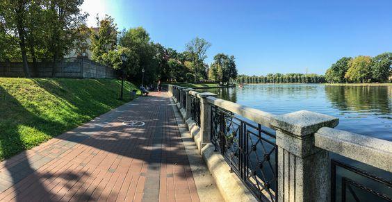 Верхний пруд. Калининград, сентябрь 2019 г. Фото Жени Шведы