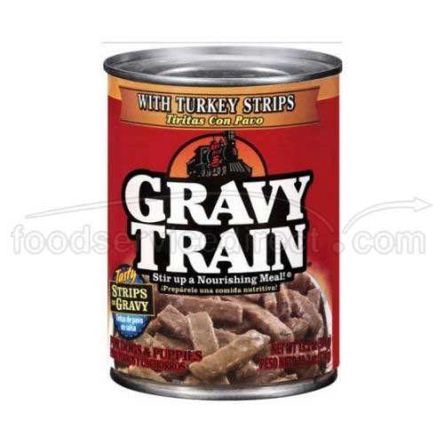 Gravy Train 79100 34419 13 2 Oz Turkey Gravy Train Canned Dog Food