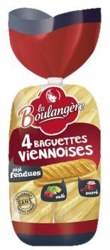 Baguettes viennoises Nature