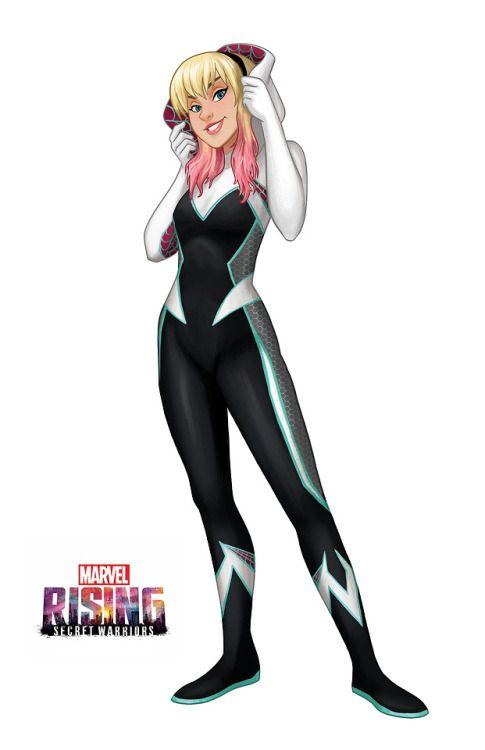 Ghost Spider NEW Marvel Rising Secret Warriors