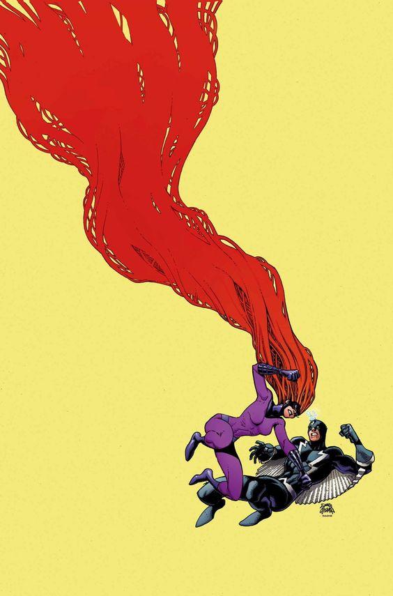 Black Bolt vs. Medusa - Ryan Stegman