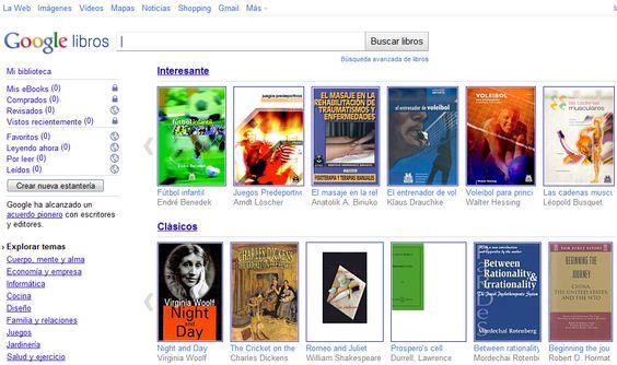 Google Books lambda Pinterest