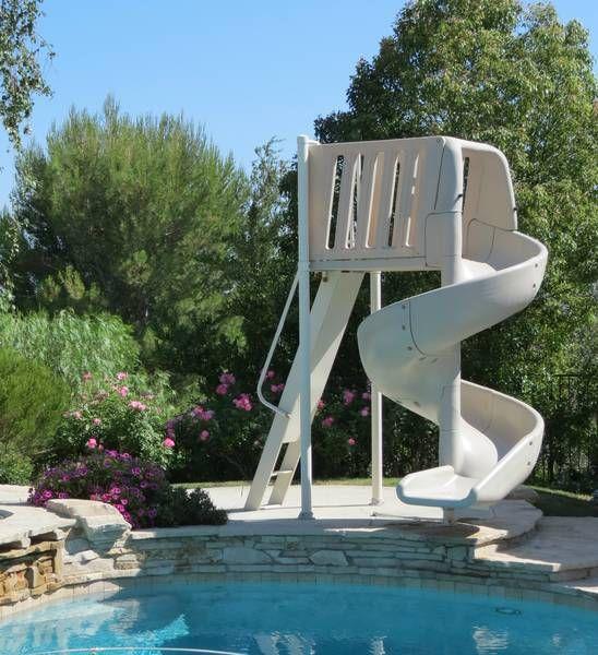 Inground Pool Slides Pools, Portable Water Slide For Inground Pool