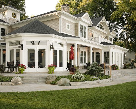 very attractive home construction and design. Traditional Porch Design  Pictures Remodel Decor and Ideas page 3 Find this Pin more on REALLY NICE HOMES 1401 best images Pinterest Dream houses