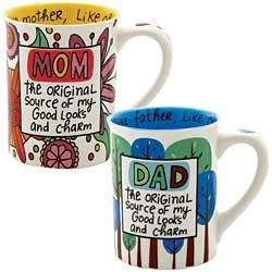 Honor Dad or Mom with a nifty mug that gives credit where it's due!