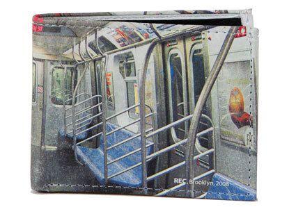 Subway Wallet  Men's Original Photography Digitally by vernakular, $55.00