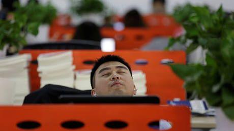 Estas 10 fotos provam que o expediente nunca acaba na China | Exame.com