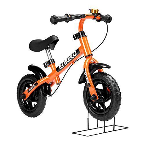 Enkeeo 10 Zoll Laufrad Sport Balance Bike Lernlaufrad