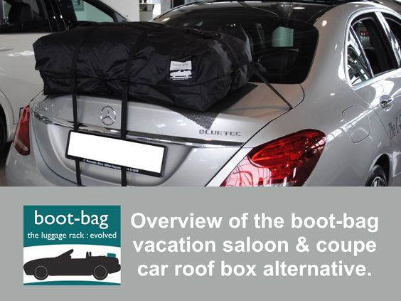 Saloon Coupe Convertible Car Roof Box Roof Rack Luggage Rack Alternative Boot Bag Car Roof Box Roof Box Boot Bag