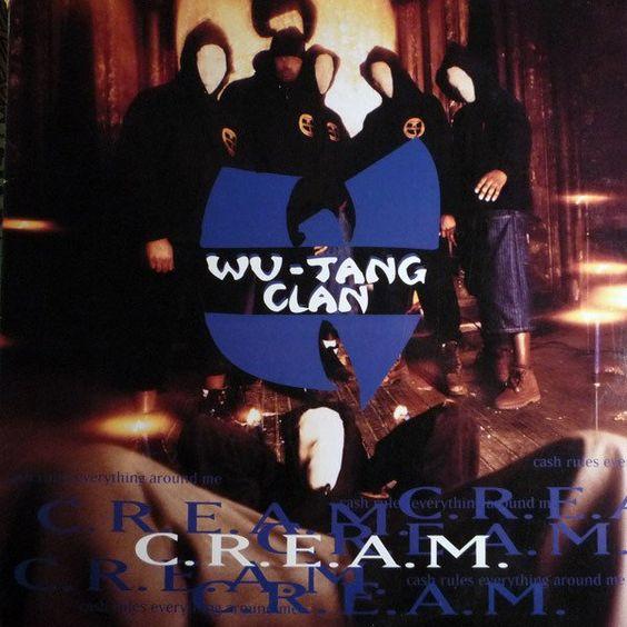 Wu-Tang Clan – C.R.E.A.M. (single cover art)