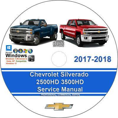 Advertisement Ebay Chevrolet Silverado 2017 2018 2500hd 3500hd Factory Service Repair Manu Chevrolet Silverado Chevrolet Silverado 2500hd Chevrolet