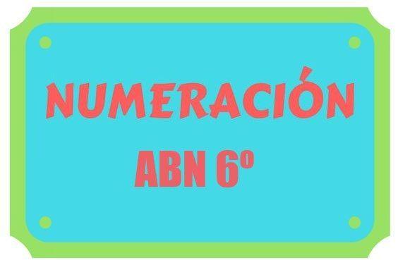 Numeración sexto
