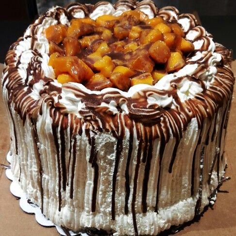 Mango Bravo Cake From Conti S Bakeshop Foodporn