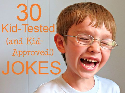 30 Jokes your kids will love!