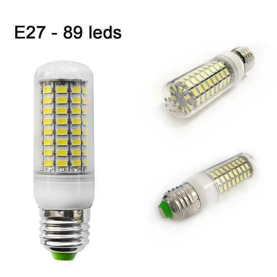 $3.19 (Buy here: http://appdeal.ru/8scr ) 1PCS 2015 Smart IC 100% High Quality Ultra Bright 89 LED SMD5730 Edison Chip 30W AC 220V 240V White/WarmWhite E27 LED Corn Bulb for just $3.19