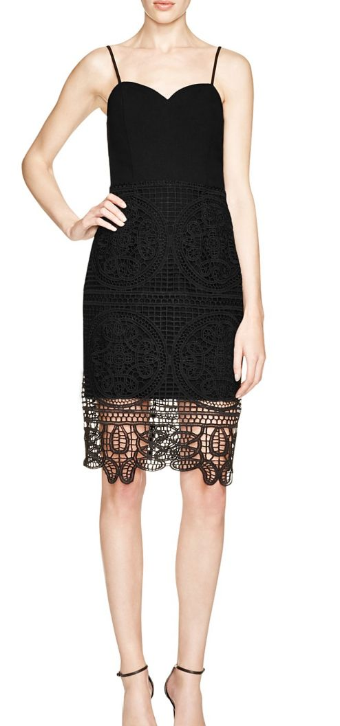 Lace Detailed LBD