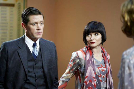 Miss Fisher's Murder Mysteries Jack & Phryne